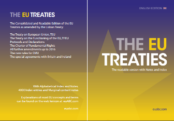 EU treaties with notes
